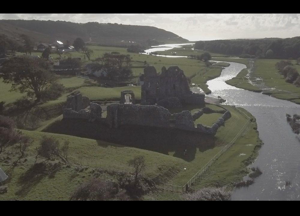 Aerial Cinematography | Ogmore Castle