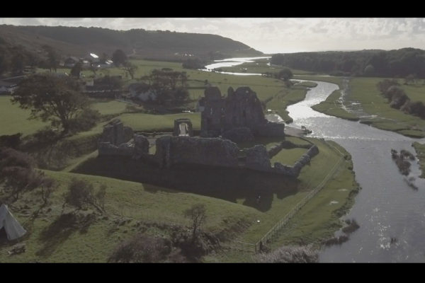 Aerial Cinematography | Ogmore Castle